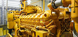 [Translate to German:] CATERPILLAR® Gas Engines