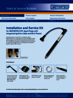 Sales & Service Bulletin Installation & Service Kit for XTL-Plugs
