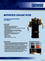 Sales Flyer Coolant Filter