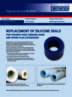 Sales & Service Bulletin Replacement of Silicone Seals