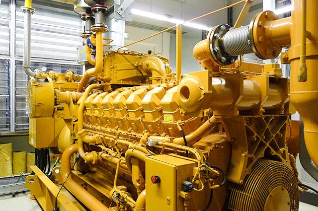 CATERPILLAR® Gas Engines | motortech